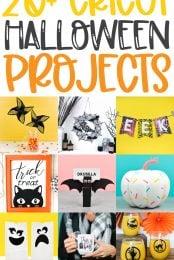 20+ Cricut Halloween Projects pin image