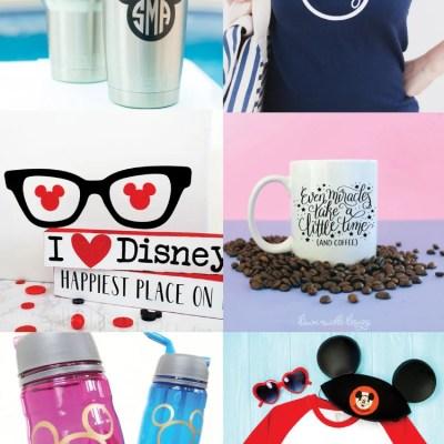 Disney SVG Files and Cricut Crafts