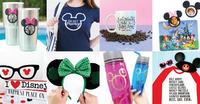 Disney SVG Files and Cricut Crafts - Hey, Let's Make Stuff