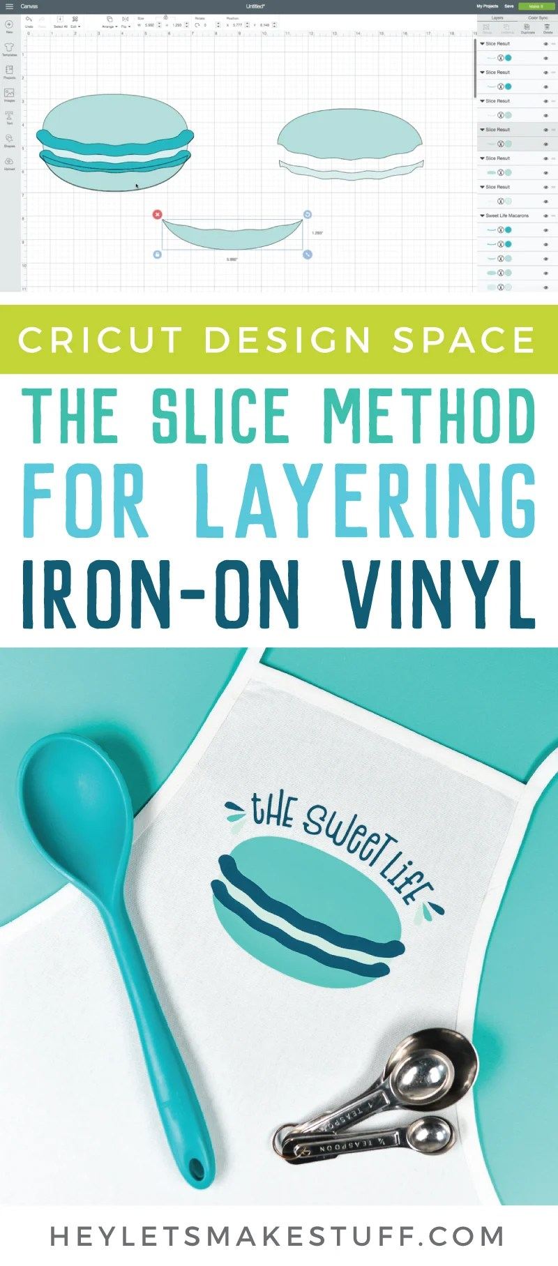 There are so many fun projects and crafts you can make with vinyl. I'll show you how to use the slice method for layering vinyl. via @heyletsmakestuf