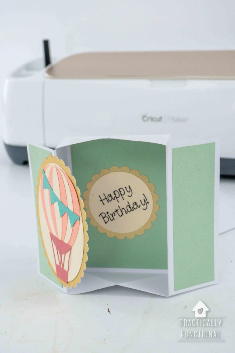 How To Make A Pop Up Box Card With The Cricut Scoring Wheel
