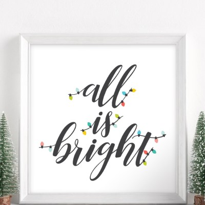 All is Bright SVG