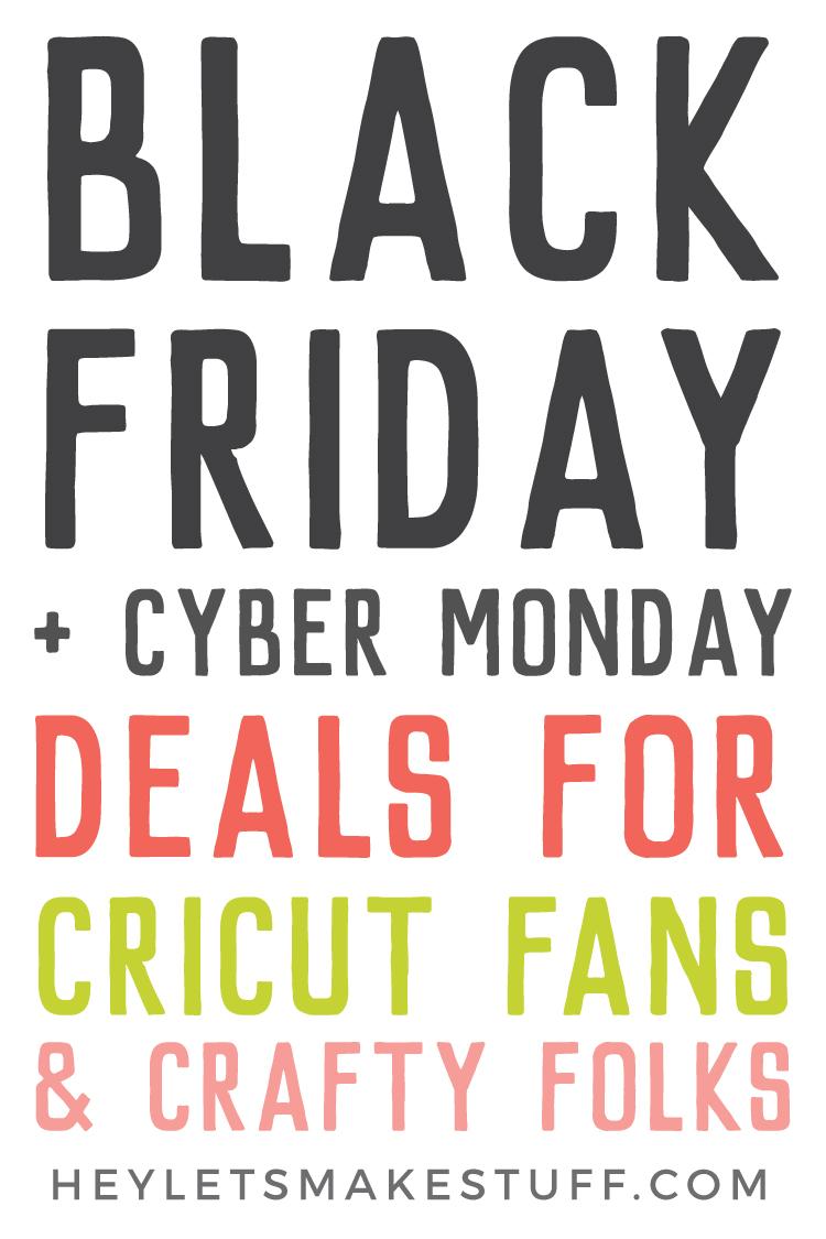 Cricut Black Friday Deals via @heyletsmakestuf