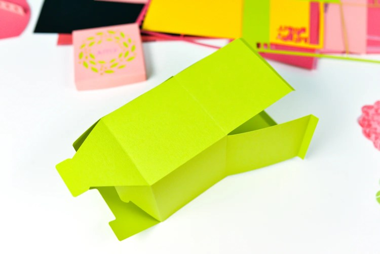 Glue the box together using the flap.