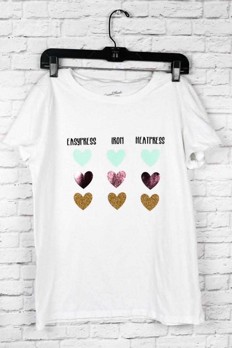 Iron on Shirt Sample