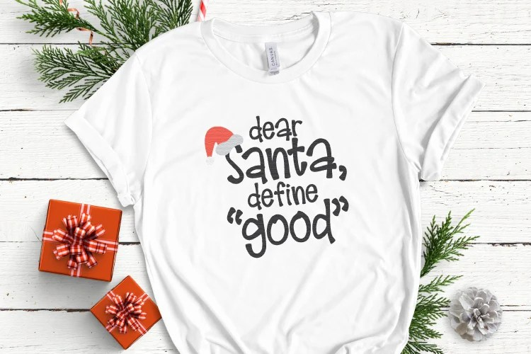 It's that time of year when the big guy in red is the star of the show. This Santa SVG Bundle has everything you need to add a jolly touch to all your Christmas crafts and projects.
