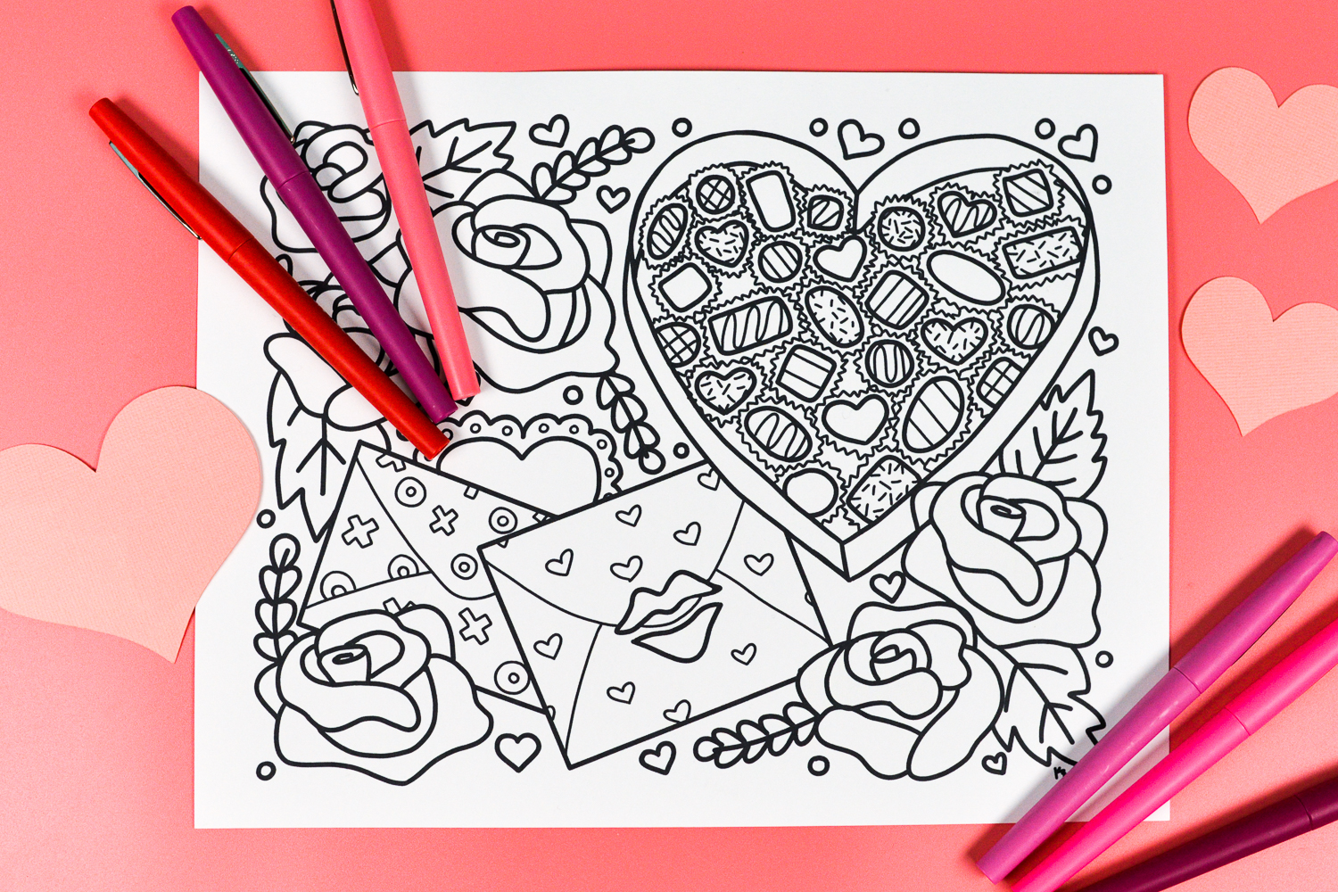 image regarding Free Printable Valentines Coloring Pages named Free of charge Printable Valentines Working day Coloring Web page - Hey, Makes it possible for