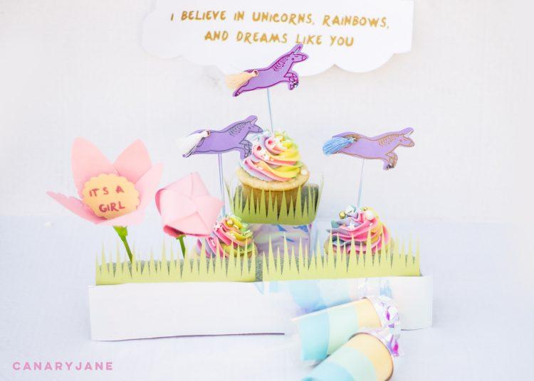 https://canaryjane.com/2017/04/unicorn-rainbows-baby-gender-reveal.html