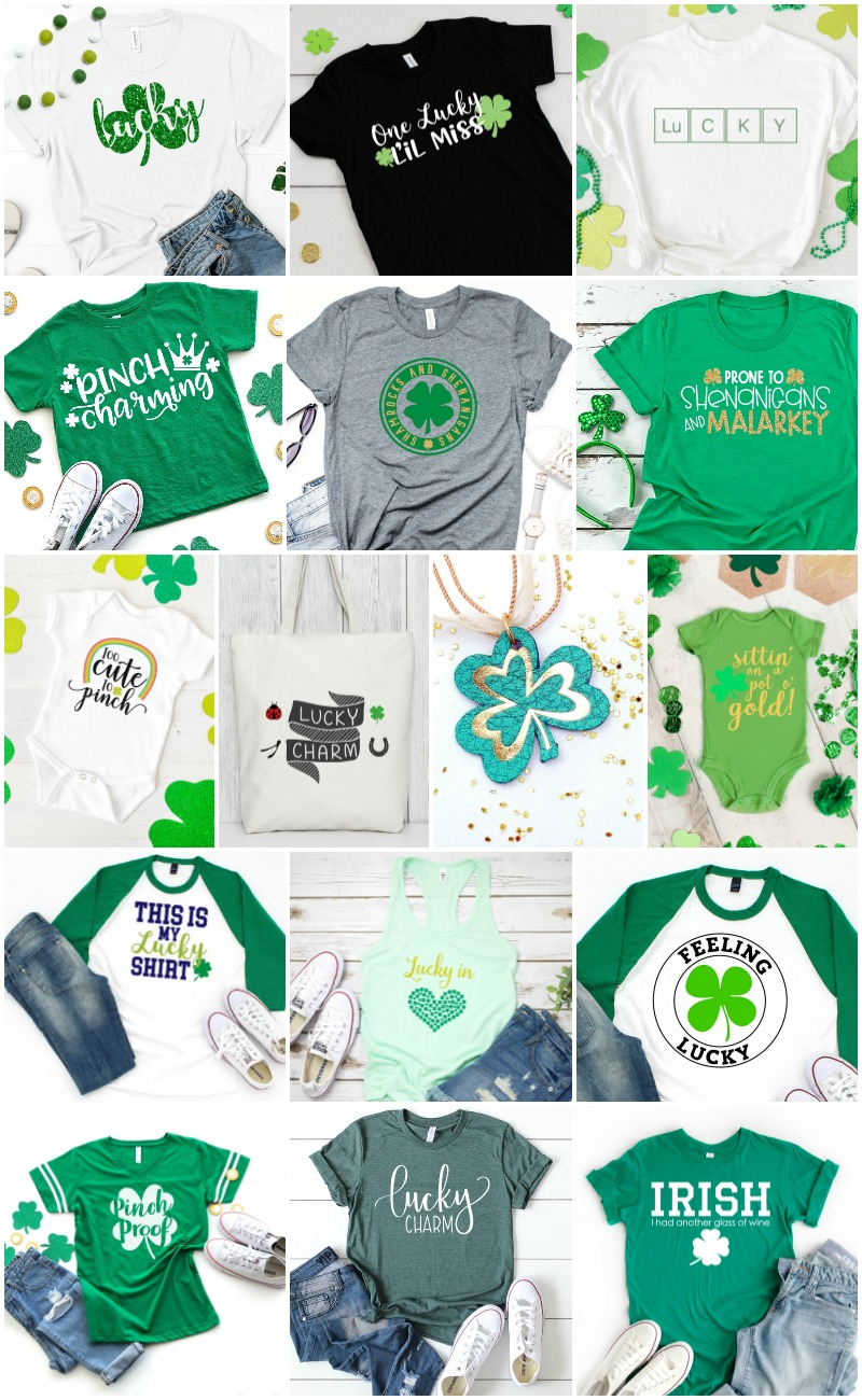 Have a little cutie in your life who is too cute to pinch? This St. Patrick's Day SVG is perfect for bodysuits, kids' t-shirts, water bottles, and more! Get this FREE cut file, plus 15 other free St. Patrick's Day-themed SVG files.