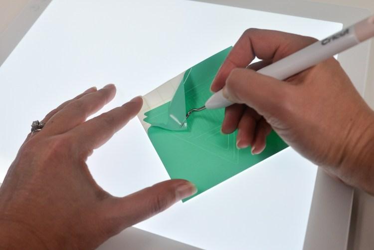 How Well Does the Cricut Brightpad Work for Weeding Vinyl-1-3