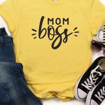 Mom Boss SVG File Bundle