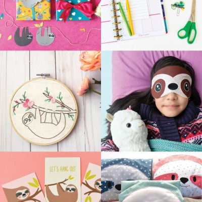 Sloth Crafts and DIY Ideas
