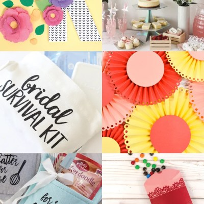 DIY Bridal Shower Ideas with the Cricut