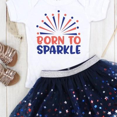 4th of July Sparkler SVG Bundle