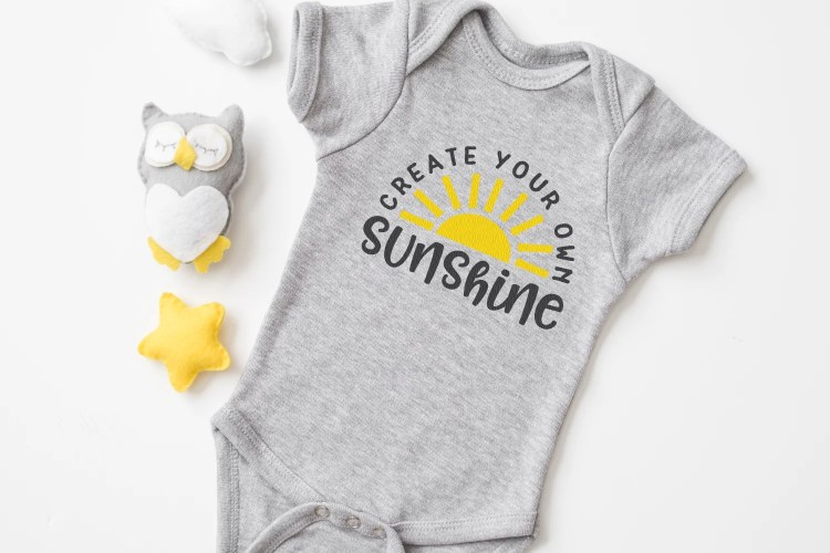 Add a little sunshine to your life with this Sunshine and Sun SVG bundle! These four bright yellow rays of happiness are perfect for summer tanks, picnic totes, coolers and much more!