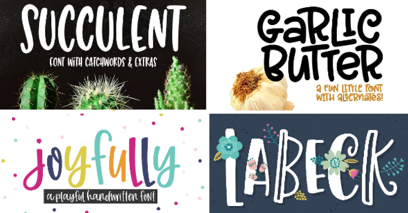 Where to Find Cheap and Free Fonts for the Cricut - Hey