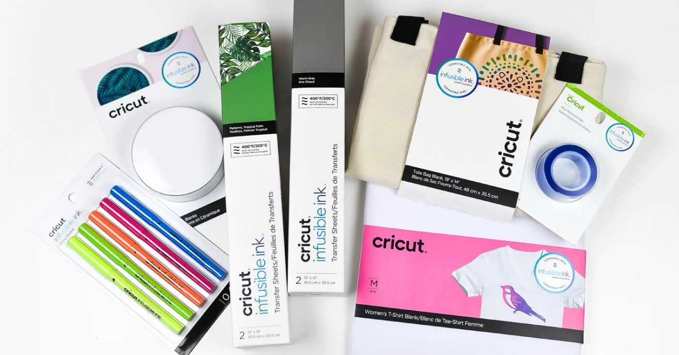What is Cricut Infusible Ink? - Hey, Let's Make Stuff