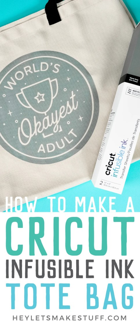 Make professional-level projects with Cricut Infusible Ink! Get the tutorial plus my tricks and tips for making a Cricut Infusible Ink tote bag right the first time.