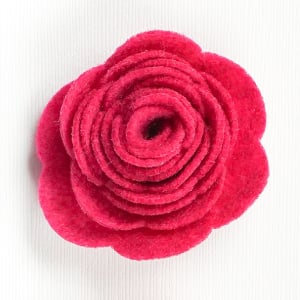 Acrylic Felt Flower