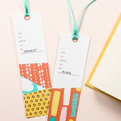 Free Fill-in-the-Blank Printable Bookmarks