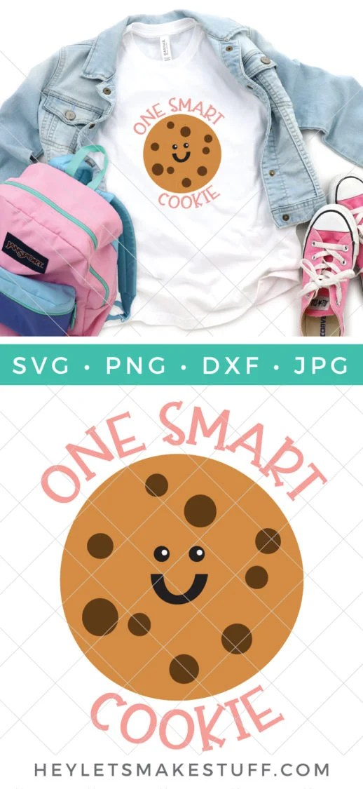 Download One Smart Cookie SVG + 15 FREE Back to School Cut Files