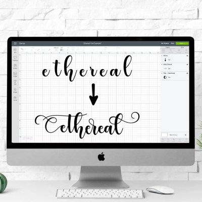 Using Glyphs in Cricut Design Space —Mac & PC