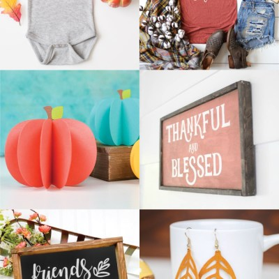 Free Fall and Thanksgiving SVG Files