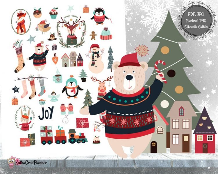Katka Crea Planner - Christmas
