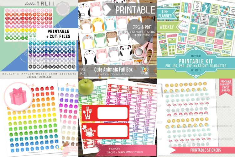 Weekly Spending Stickers,Spending Tracker Stickers,printable planner stickers,sidebar sticker,EC stickers