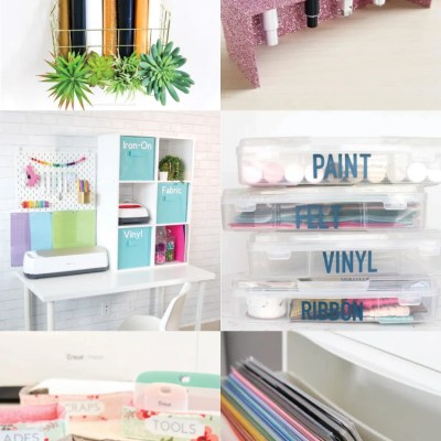 The Best Cricut Storage + Organization Ideas
