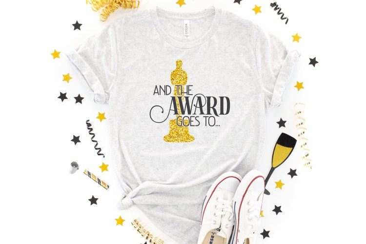 Grab these four cut files as part of our Oscars SVG bundle to get red-carpet ready for the biggest awards show of the year!