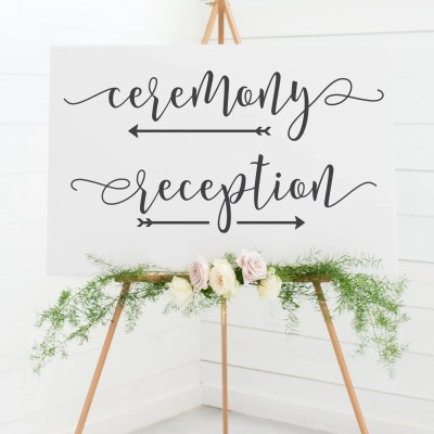 Free Wedding Sign SVG Files