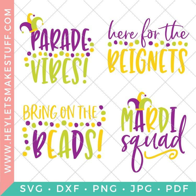 Mardi Gras SVG files