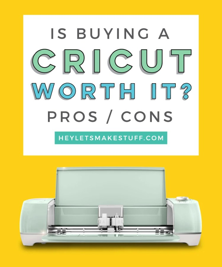 Is Buying a Cricut Worth It? Pin Image