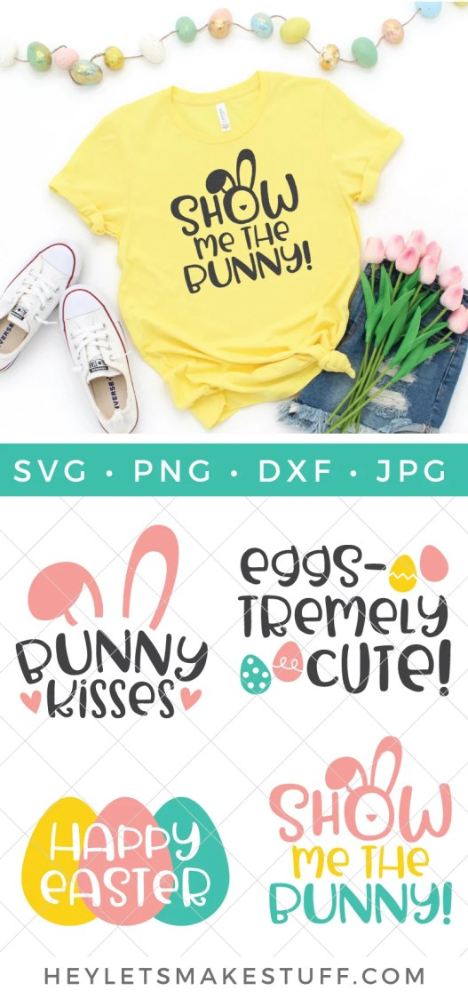Easter SVG files pin image