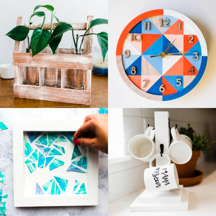 Collage image of Adults & Crafts projects