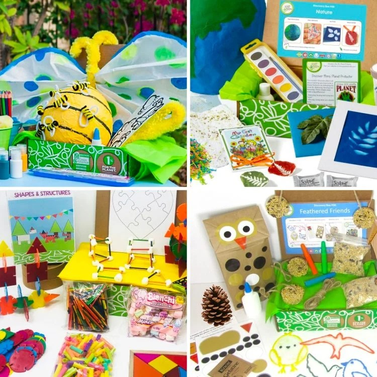 Collage of Science & Craft Subscription Boxes