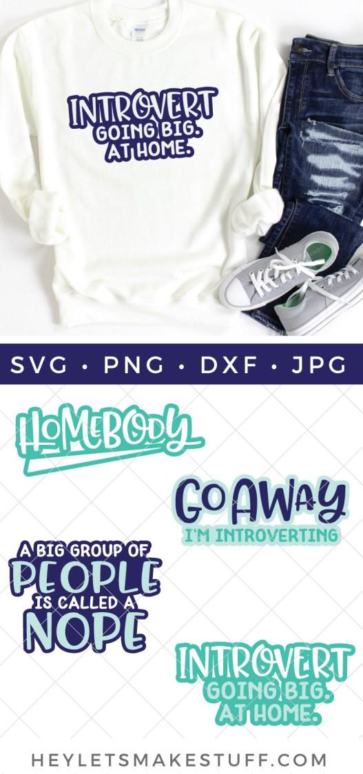 Introvert SVG bundle pin image