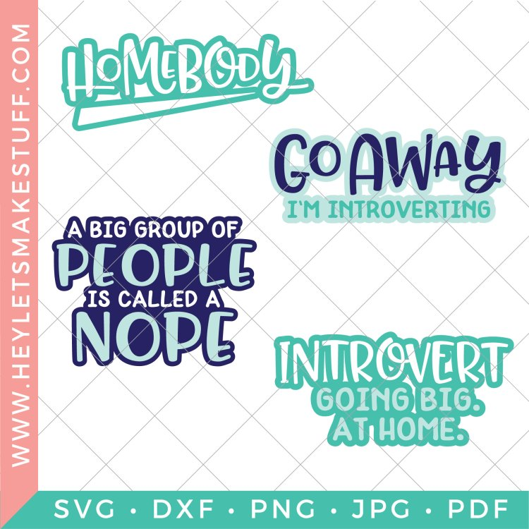 All four introvert SVG files