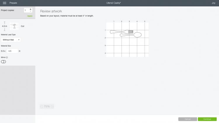 Image of files on Cricut mat, rotated 90°
