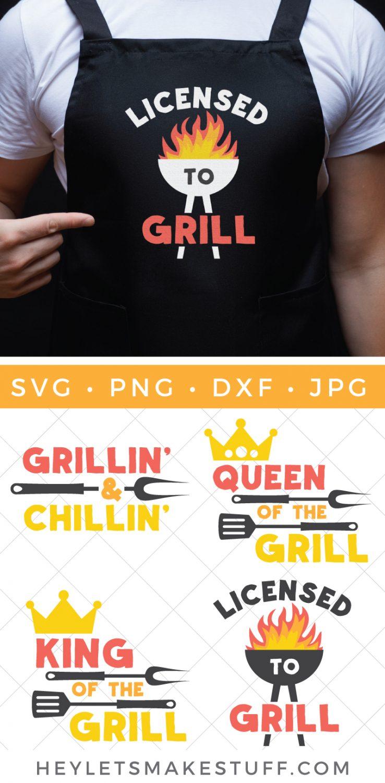 barbecue SVG pin image