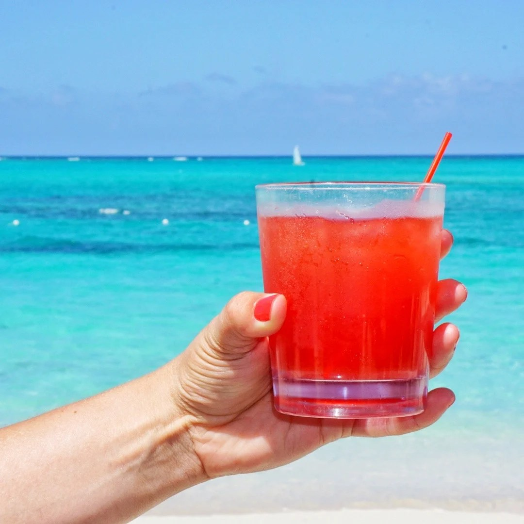 Happy Hour drinks at the Beaches Resort