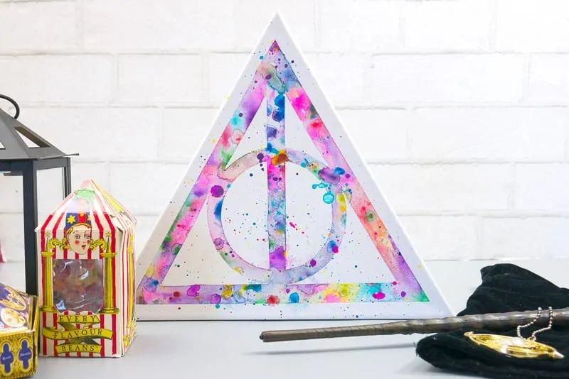 Harry Potter watercolor art