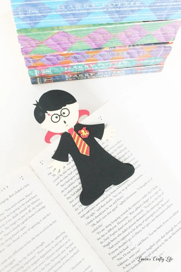 Harry Potter magnetic bookmarks