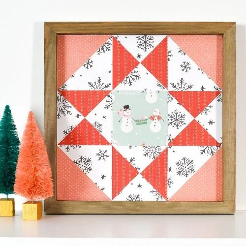 Christmas Quilt Block artwork