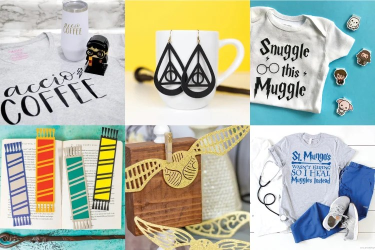Harry Potter Cricut projects