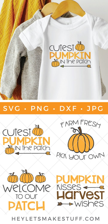 pumpkin patch SVG bundle pin