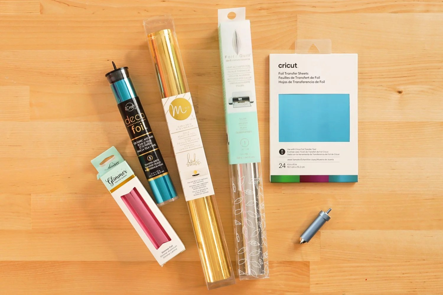 Five types of crafting foil
