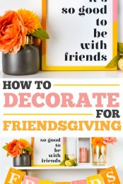 Friendsgiving Decorations with the Cricut Pin Image