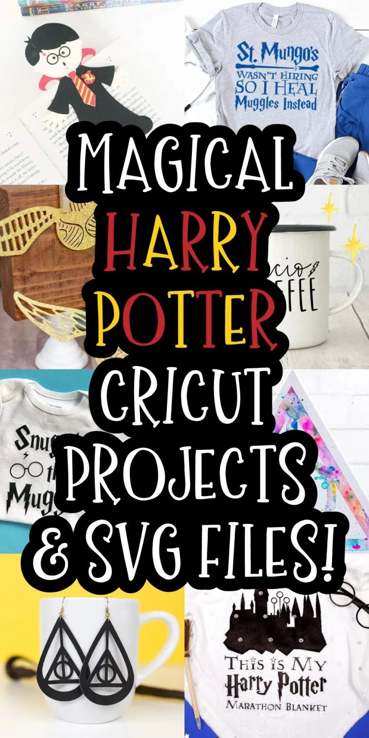 Free Harry Potter Svg Files : harry, potter, files, Magical, Harry, Potter, Files, Cricut, Projects, Let's, Stuff